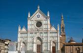 Santa croce, firenze, italia — Foto Stock