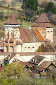 Alma Vii, Evangelical fortified church — Stock Photo