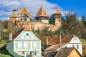 Fortified Church of Alma Vii — Stock Photo