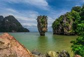 James Bond Island(Koh Tapoo), Thailand — Stock Photo