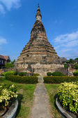 Black Stupa in Vientine, Laos — Stock Photo
