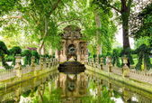 The Medici Fountain, Paris, France — Stock Photo