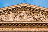 The Pantheon, Paris France-architectural detail — Stock Photo
