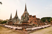 Wat Phra Si Sanphet, Ayutthaya, Thailand — Stock Photo