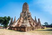 Wat Chaiwatthanaram, Ayuthaya Province, Thailand — Stock Photo