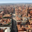 Panoramic view of Bologna city, Italy — Photo