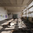 Abandoned hall — Stock Photo