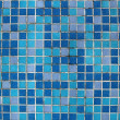 Blue mosaic background — 图库照片