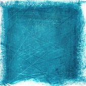 Blue scratched vintage texture — 图库照片