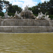 Stock Photo: The Neptune Fountain in Schonbrunn garden in Vienna, Austria