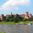 Wawel Royal Castle in Krakow, Poland — Stock Photo