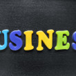 Stock Photo: Business word