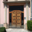 Stock Photo: Elegant entrance door