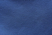 Blue leather texture or background — Stock Photo