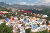 Belle vue sur ville colorée-guanajuato au Mexique — Photo