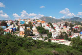 Panoramic view of beautiful Guanajuato in Mexico — Stock Photo