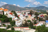 Landscape of colorful town- Guanajuato in Mexico — Stock Photo