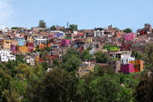 Colorful architecture of Guanajuato, Mexico — Stock Photo