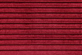 Red stiped fabric texture or background — Stock Photo