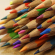 Stock Photo: Bunch of colorful pencils