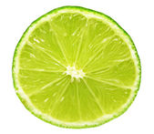 Closeup of lime slice — Stock Photo