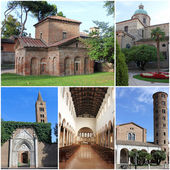 Collection of photos from Ravenna, Italy — Stock Photo
