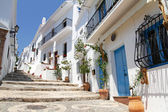 Picturesque Frigiliana- one of beautiful white towns in Andalusia, Spain — Stock Photo