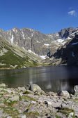 Beautiful Black Pond Gasienicowy in Tatra Mountains, Poland — Stock Photo