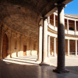 Palace of Charles V in La Alhambra, Granada, Spain — Stock Photo #48845269