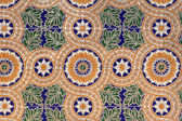 Traditional spanish tiles background — Stock Photo