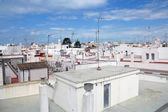 Cityscape of spanish white town — Stock Photo