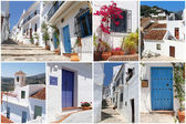 Set of photos from Frigiliana, Andalusia, Spain — Stock Photo