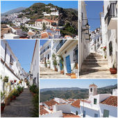 Collection of photos from beautiful Frigiliana, Andalusia, Spain — Stock Photo