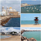 Set of photos from Cadiz, Andalusia, Spain — Stock Photo