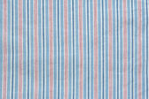Blue striped linen background — Stock Photo