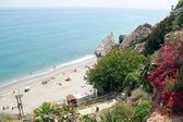 Nerja famous resort on Costa del Sol, Malaga, Spain — Foto de Stock