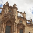 Front side of The Cathedral of San Salvador in Jerez de la Front — Stock Photo #50949489