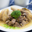 Foto Stock: Mutton Curry