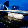 Sailing bridge — Foto Stock
