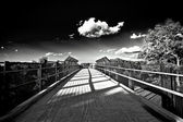 Footbridge — Stock fotografie