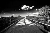 Footbridge — Stockfoto