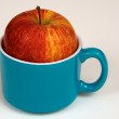 Stock Photo: Cup of Apple