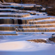 Gold blue falls — Foto Stock