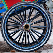 Cart wheel — Stock Photo