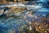 Schäumenden creek — Stockfoto