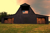 Americký stodola — Stock fotografie