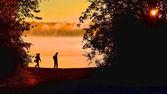Dawn patrol — Stockfoto
