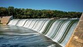 Griggs barragem no verão — Foto Stock