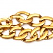 Golden bracelet — Stock Photo