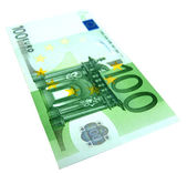 100 Euro banknote — Stock Photo